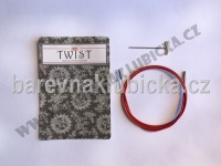 Lanko S/125 cm Chiaogoo TWIST Red