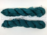 Silkpaca lace TEAL FEATHER 412