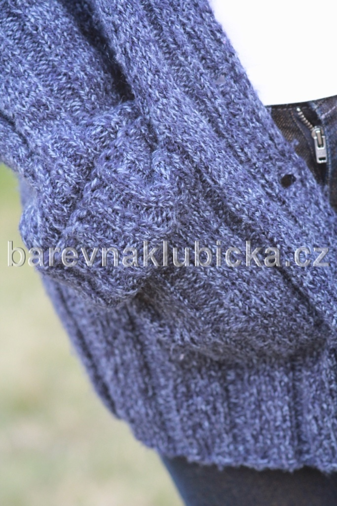 Everyday new tweed pletený cardigan